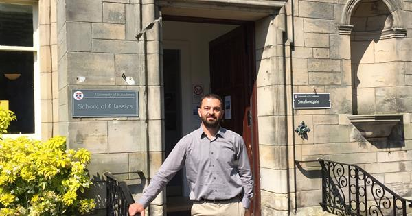 Assoc. Prof. Dr. Mehmet Erginel gave a speech in a seminar organised at the University of Cambridge