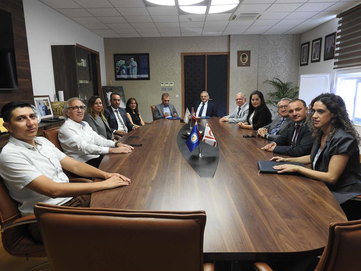 A cooperation protocol has been signed between Eastern Mediterranean University (EMU) and North Cyprus Insurance & Reinsurance Companies Association