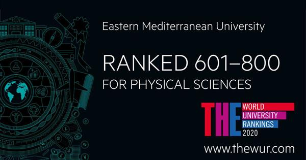EMU FACULTY OF ARTS AND SCIENCES IS THE FIRST IN NATURE INDEX RANKING