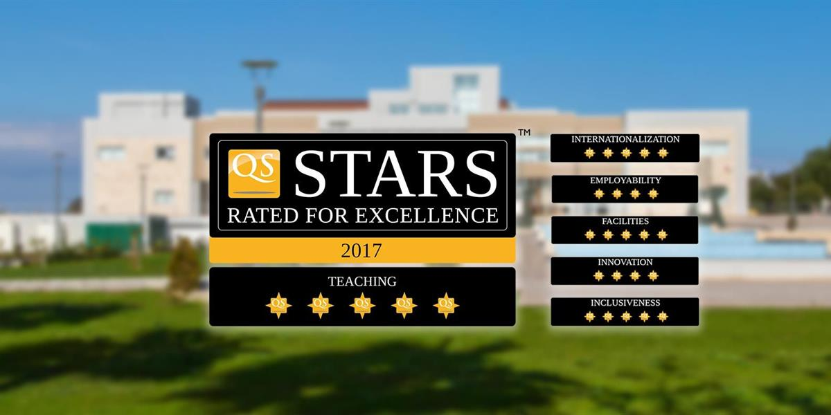 EMU Receives Five Stars From QS in the Teaching Category